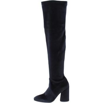 Schuhe Damen Stiefel Elvio Zanon stiefel samt schwarz