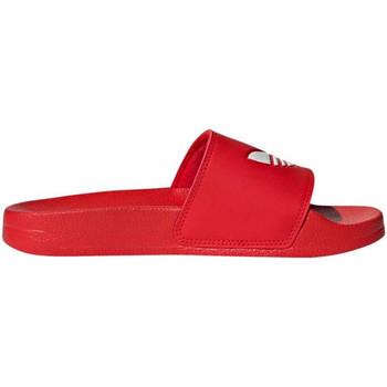 Schuhe Jungen Wassersportschuhe adidas Originals - Adilette lite j rosso/bco FU9179 ROSSO