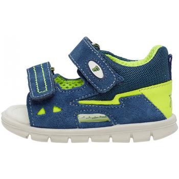 Schuhe Jungen Sandalen / Sandaletten Falcotto - Sandalo azzurro KNIK-1C81 AZZURRO