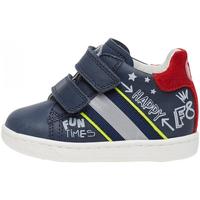 Schuhe Jungen Sneaker Falcotto - Polacchino blu ATLEY VL-1C23 BLU
