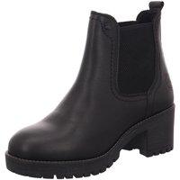 Schuhe Damen Stiefel Black Stiefeletten 254502-008 schwarz