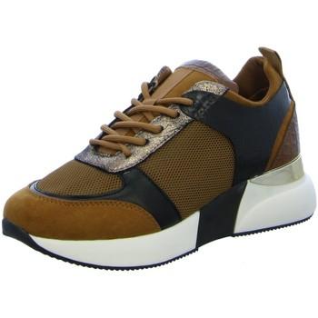 Schuhe Damen Sneaker La Strada DK TAN MICRO MESH 1901090-2226 braun