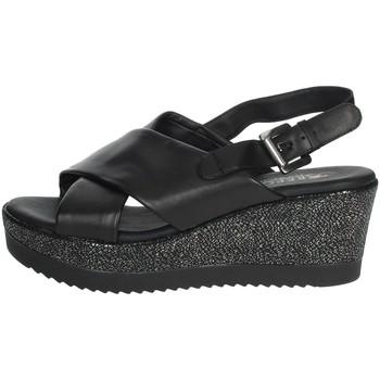 Schuhe Damen Sandalen / Sandaletten Repo 51529-E0 Schwarz