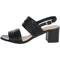 Schuhe Damen Sandalen / Sandaletten Repo 46503 Schwarz