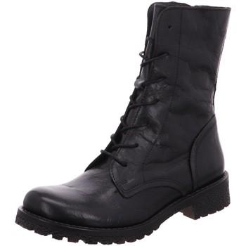 Schuhe Damen Low Boots Lazamani Stiefeletten 74.440-0 schwarz
