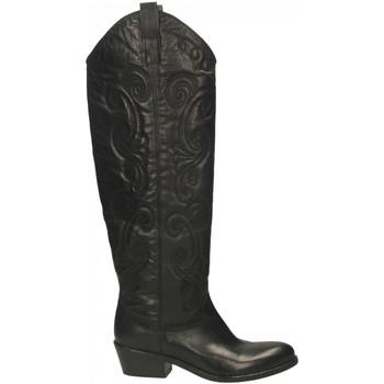 Schuhe Damen Klassische Stiefel Now MALAGA nero