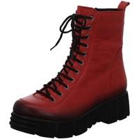 Schuhe Damen Boots Gemini Stiefeletten Anilina Stiefel 349441-005 rot