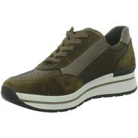 Schuhe Damen Sneaker Low Longo Schnuerschuhe 1061197 braun