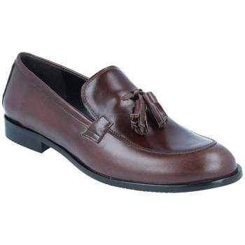 Schuhe Damen Slipper Luis Gonzalo Zapatos Mocasines para Mujer de  5133M Braun