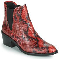 Schuhe Damen Boots Fericelli NIAOW Schwarz / Rot