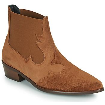 Schuhe Damen Boots Fericelli NANTIAG Camel