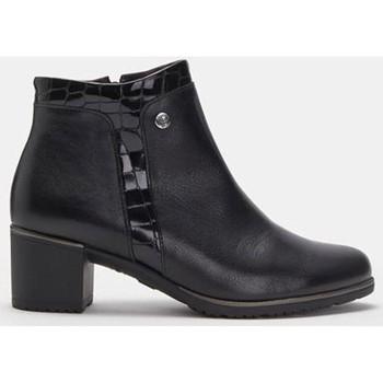 Schuhe Damen Low Boots Pitillos 6338 Schwarz