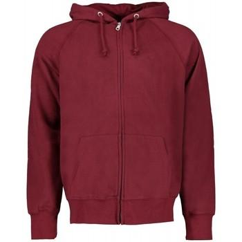 Kleidung Herren Sweatshirts Scout Sweatshirt mit Kapuze und Reißverschluss (flp2834-bordeau Bordeaux
