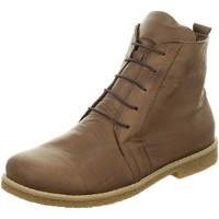 Schuhe Damen Boots Andrea Conti Stiefeletten Andre Conti Bootie dunkel 0344523-061 braun
