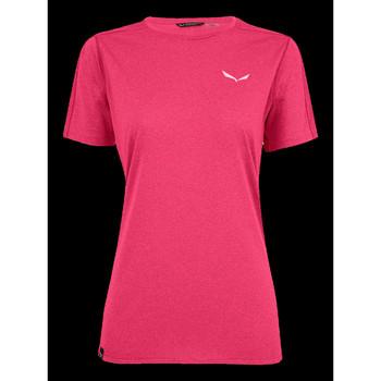 Kleidung Damen T-Shirts Salewa T-Shirt  Pedroc 3 DRY W S/S TEE 27726-6385 rosa