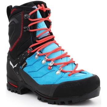 Schuhe Damen Wanderschuhe Salewa WS Vultur EVO GTX 61335-8610 schwarz, blau