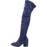 Schuhe Damen Stiefel Accademia stiefel samt blau