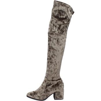 Schuhe Damen Stiefel Accademia BK401 grün