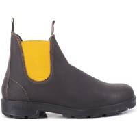 Schuhe Damen Boots Blundstone   1919 El Seitenstiefel braun   BST_BC1919 BRW MUST Marron