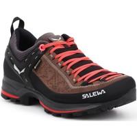 Schuhe Damen Wanderschuhe Salewa Trekkingschuhe  WS MTN Trainer 2 GTX 61358-0480 schwarz, braun