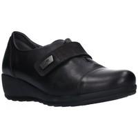 Schuhe Damen Slipper Dorking F1071 Mujer Negro noir