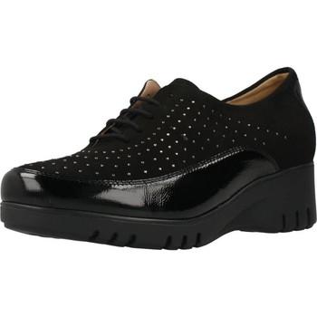 Schuhe Damen Richelieu Piesanto 101102 Schwarz