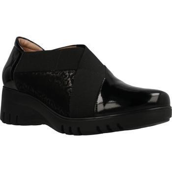 Schuhe Damen Pantoletten Piesanto 195961 Schwarz