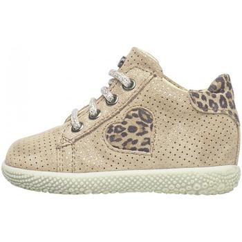 Schuhe Jungen Sneaker Falcotto - Polacchino platino CARYB-0Q06 ROSA