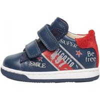 Schuhe Jungen Sneaker Falcotto - Polacchino blu GRUNDY VL-1C23 BLU
