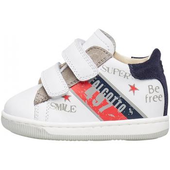Schuhe Jungen Sneaker Falcotto - Polacchino bianco GRUNDY VL-1N31 BIANCO