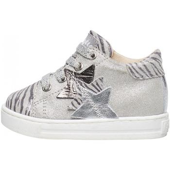 Schuhe Jungen Sneaker Falcotto - Polacchino argento QUIRREL-0Q04 ARGENTO