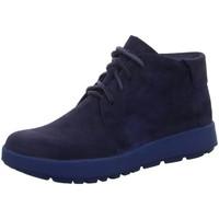 Schuhe Damen Stiefel Think Stiefeletten Comoda Schnürboot 3-000089-8010 blau