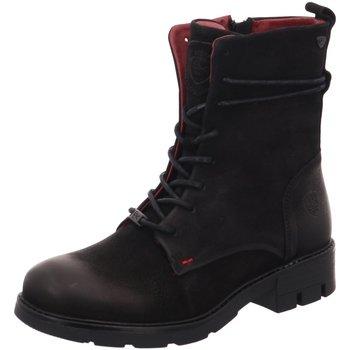 Schuhe Damen Boots Black Stiefeletten 252478000/008 schwarz