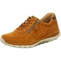 Schuhe Damen Sneaker Low Rollingsoft By Gabor Schnuerschuhe 56.968.41 braun