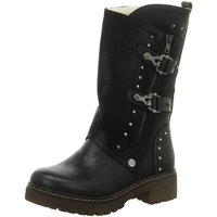 Schuhe Damen Klassische Stiefel Laufsteg München Stiefeletten HW190804 BLACK schwarz