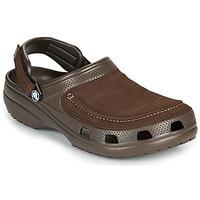 Schuhe Herren Pantoletten / Clogs Crocs YUKON VISTA II CLOG M Braun