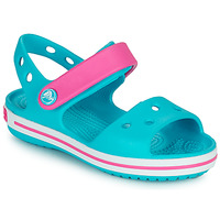 Schuhe Mädchen Sandalen / Sandaletten Crocs CROCBAND SANDAL Blau