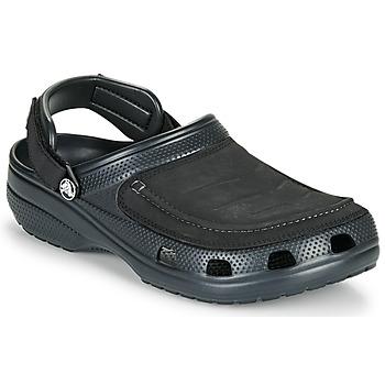 Schuhe Herren Pantoletten / Clogs Crocs YUKON VISTA II CLOG M Schwarz