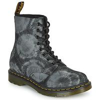 Schuhe Damen Boots Dr Martens 1460 PASCAL Schwarz / Grau