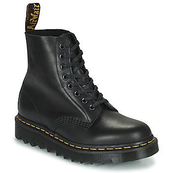 Schuhe Boots Dr Martens 1460 Pascal Ziggy Schwarz