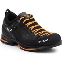 Schuhe Herren Fitness / Training Salewa Trekkingschuhe  MS MTN Trainer 2 GTX 61356-0933 schwarz, orange