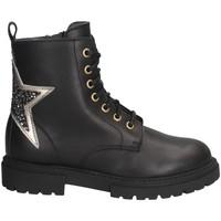 Schuhe Mädchen Low Boots Dianetti Made In Italy I9907 Stiefel Kind schwarz schwarz