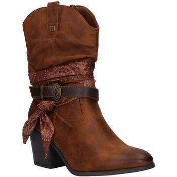 Schuhe Damen Klassische Stiefel MTNG 50275 Marr?n