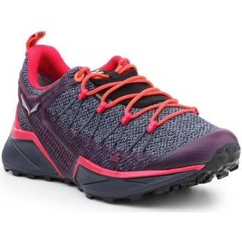 Schuhe Damen Laufschuhe Salewa WS Dropline Gtx Grau, Orangefarbig, Violett