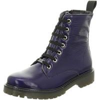 Schuhe Damen Low Boots Black Stiefeletten 222,257 262453000/838 blau