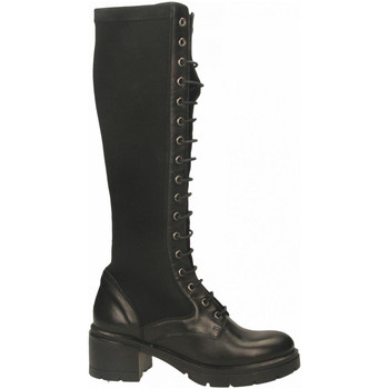 Schuhe Damen Klassische Stiefel Tosca Blu LISBONA c99-nero