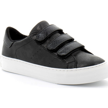 Schuhe Damen Sneaker Low No Name Arcade Straps Noir
