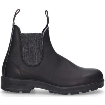 Schuhe Damen Low Boots Blundstone 2032 Beatles Frau schwarzes Silber schwarzes Silber