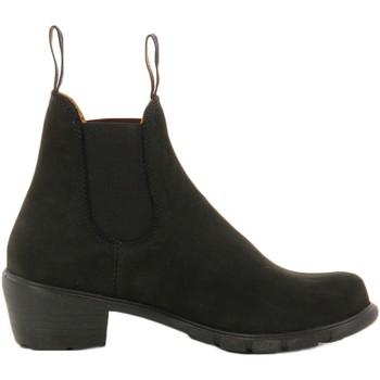 Schuhe Damen Ankle Boots Blundstone 1960 Stiefeletten Frau schwarz schwarz