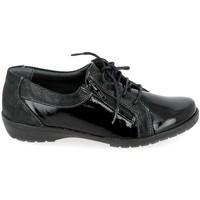 Schuhe Herren Derby-Schuhe Boissy 80069 Noir Schwarz